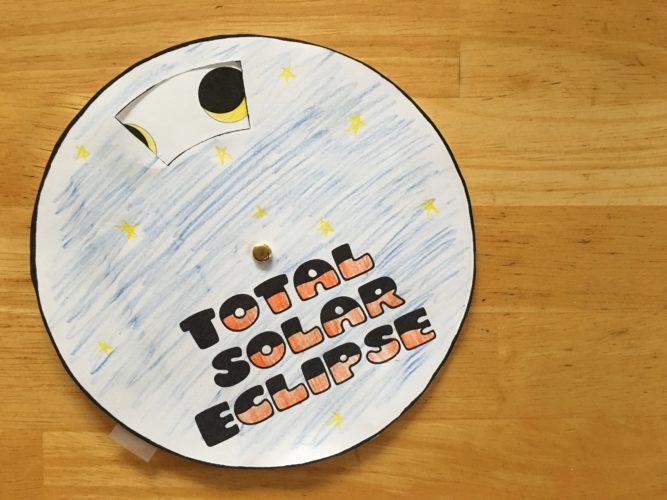 Total Solar Eclipse Mini Book